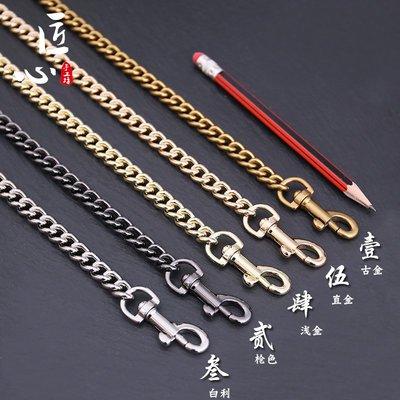 包包背帶匠心手工坊寇池小包包麻將包替換鏈條單買配件肩帶斜挎包金屬鏈子