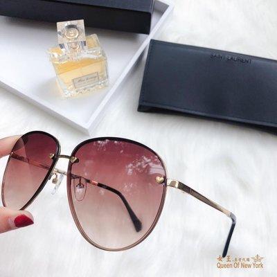 【紐約女王代購】YSL yves saint laurent 時尚飛行 女款太陽眼鏡 墨鏡顏色5 歐洲限量代購
