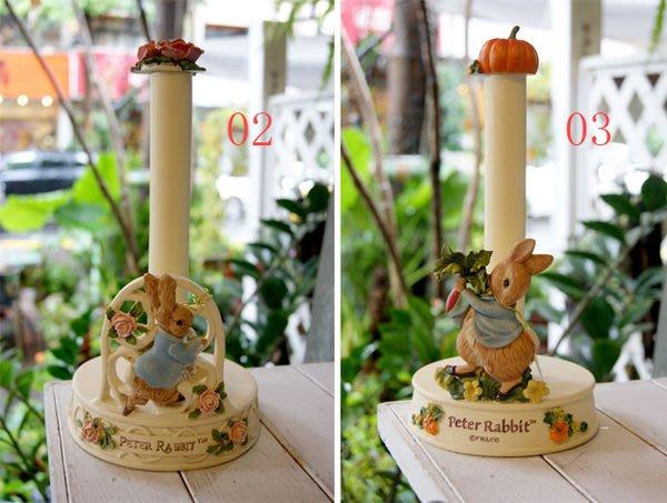 餐巾座--秘密花園--彼得兔Peter Rabbit玫瑰園/拔蘿蔔餐巾紙架/餐巾紙架座