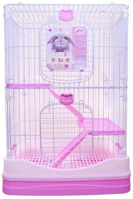 【台灣現貨】優米卡豪華兔籠(雙層)-附輪子 給兔兔一個完美的家 雙層超大空間兔籠