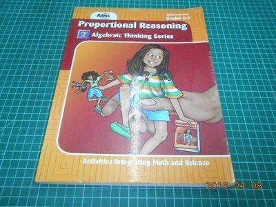 《Proportional Reasoning》七成新 ISBN:1881431789 【CS超聖文化2讚】