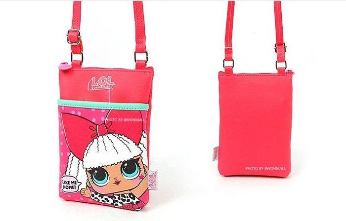♀高麗妹♀韓國 L.O.L.《驚喜娃娃》驚喜寶貝 側背包/斜背包 可調式背帶(四款娃娃 隨機出貨)現貨