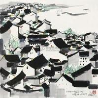 [賞書房] 2011年@ 北京保利拍賣目錄畫集《吳冠中重要繪畫作品專場》