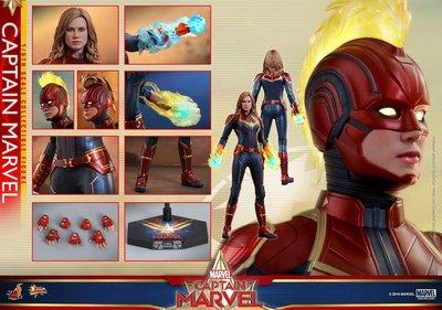 9/2/2019 次日vip訂單 (尾數$877) captain marvel mms521 hottoys hot toys 普通版
