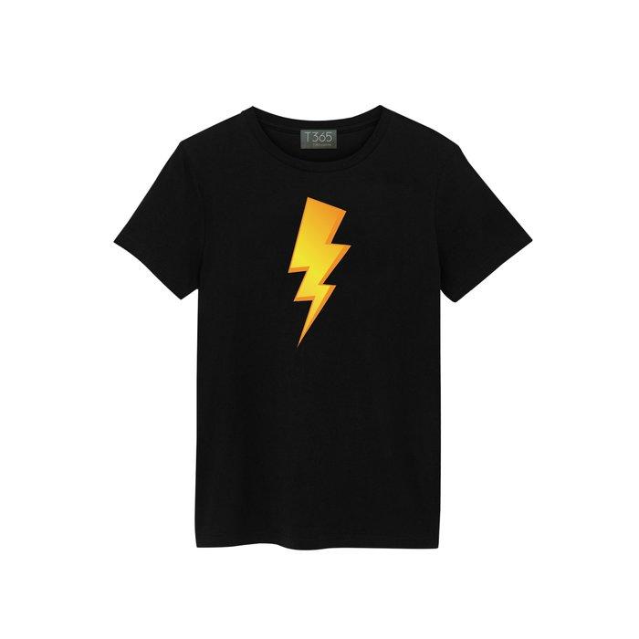 T365 閃電 雷電 打雷 電流 01款 T恤 男女皆可穿 多色同款可選 短T 素T 素踢 TEE 短袖 上衣 棉T