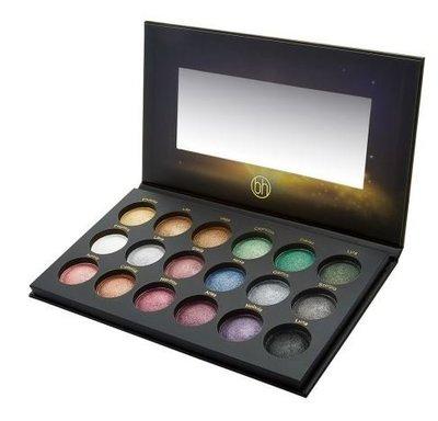 美國彩妝bh cosmetics 超級新星18色烤派眼影盤   精緻的星際烤眼影盤