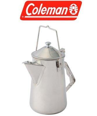 【山野賣客】美國ColemanCM-26788 不鏽鋼火爐茶壺開水壺 泡茶壺