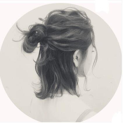 全館免運-包包頭韓系假髮女丸子頭盤髮器真髮花苞【MISS ANNA】