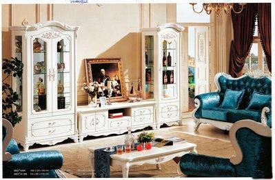 【大熊傢俱】9801 玫瑰 新古典電視櫃 展示櫃 矮櫃  收納櫃  地櫃 視聽櫃 玄關櫃  櫥櫃 餐邊櫃ㄌ
