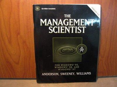 【愛悅二手書坊 A-2】 THE MANAGEMENT SCIENTIST(附光碟)