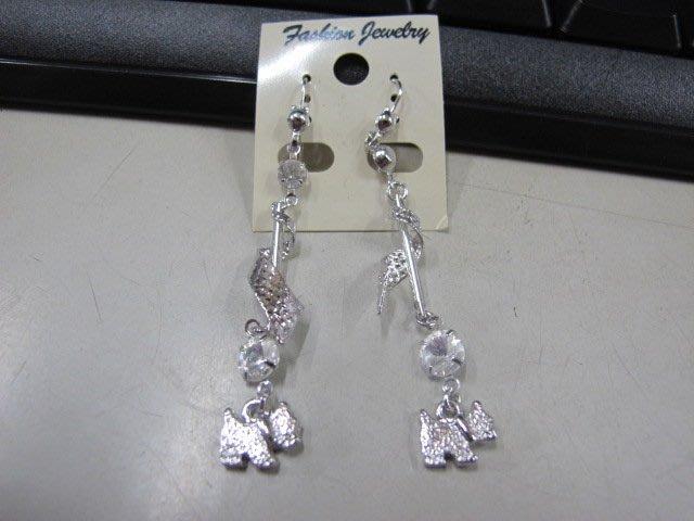 二手舖 NO.4511 時尚造型耳環 耳針 耳鉤 便宜賣 首飾飾品