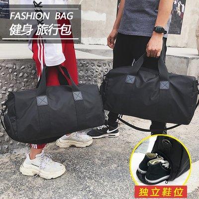 AFF033 短途旅行包女手提韓版行李...
