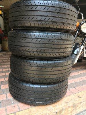 中古 日本橫濱輪胎 yokohama e51b 225 60 18 四條8000元