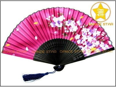 舞星【肚皮舞卡門日本舞蹈神社古裝影視道具】167612#-日本真絲扇-古黃竹扇日式折疊扇-展開直徑38cm-單把150元
