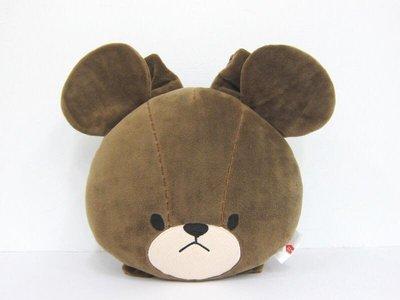 小熊造型車用頭枕絨毛頭枕組 車用頸枕 ...