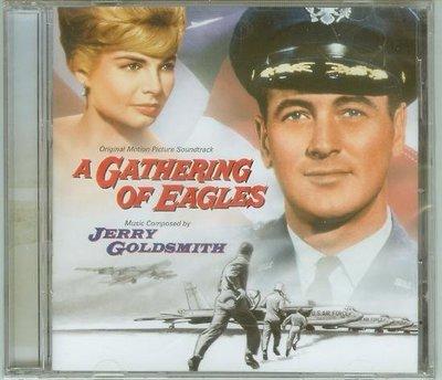 """A Gathering Of Eagles""- Jerry Goldsmith(186),全新美版,Limited"