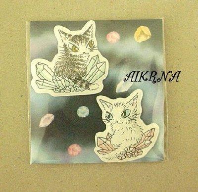 wachifield-dayan(瓦奇菲爾德,達洋)~全新非賣品貓咪磁鐵