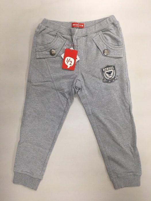 Why and 1/2 英國風淺灰色棉褲