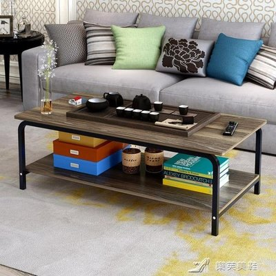 可開發票蔓斯菲爾簡約現代茶幾客廳邊幾角幾長方形組裝小茶桌咖啡桌小方桌【十里八鋪】