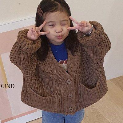 S~XL ♥外套(棕色) MERRY GO ROUND-2 21秋季 MGR210823-002『韓爸有衣韓國童裝』~預購