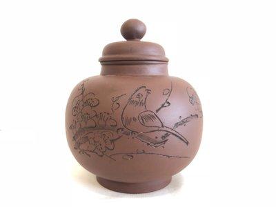 【烏魯木齊驛館】茶倉 茶葉罐 宜興 紫砂 紅土 紅泥