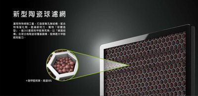 【Jp-SunMo】阿沺ARKDAN高效清淨除濕機_活性碳陶瓷球濾網A-FCR9P(C)_適用APK-CR9P(S)