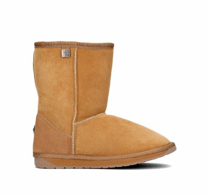 INDiCE ↗ 澳洲製 EMU Australia Platinum 頂級羊皮中筒雪靴 甜栗棕