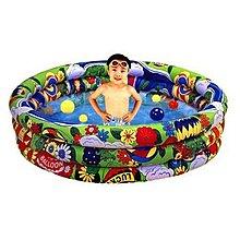 高級 充氣兩用游泳池/遊戲池 /附贈彩球和打氣筒