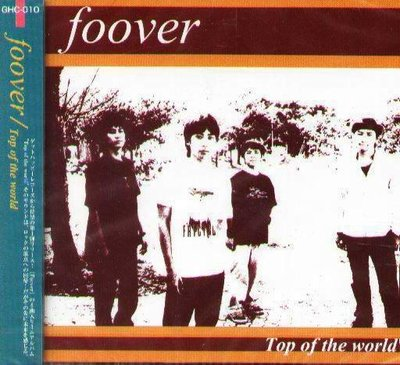 K - foover - Top of the world - 日版 NEW