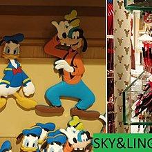 17-1001-44-香港迪士尼-魔法師-米奇/米妮/唐老鴨/高飛- 磁鐵