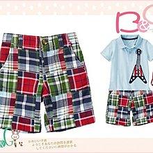 【B& G童裝】正品美國進口Crazy8 Patchwork Plaid Short 彩色拼布圖樣短褲2,4yrs
