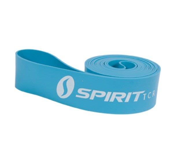 【線上體育】健身拉力帶-天空藍-輕.SpiritTCR商標