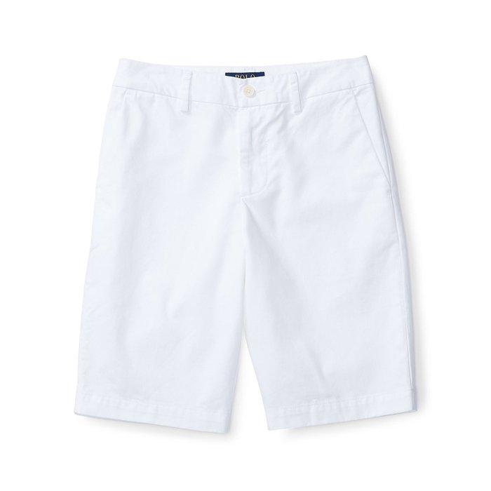 美國百分百【全新真品】Ralph Lauren 短褲 休閒褲 褲子 Polo 小馬 RL 白色 29腰 H874