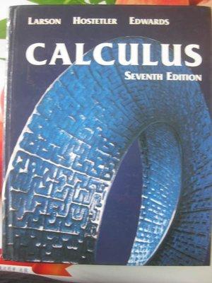 【堆堆樂雜貨店】╭☆自有書+9成新《微積分Calculus With Analytic Geometry》SEVENTH