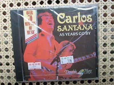 CD~拉丁搖滾Santana--As Years Go By專輯(全新未拆)..收錄Soul Sacrifice等..