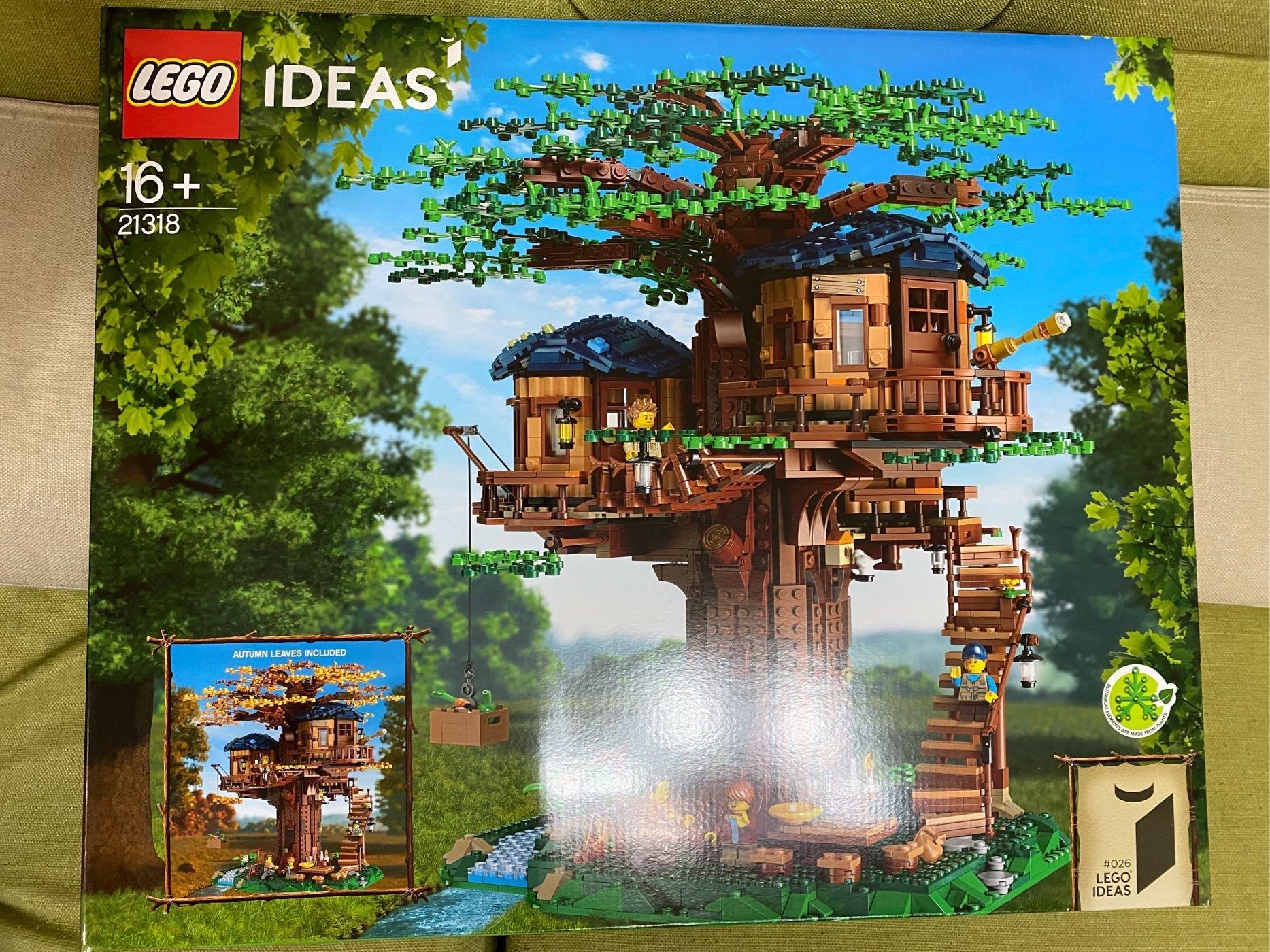 樂高 Lego 21318 樹屋  IDEAS 系列( 全新未拆)