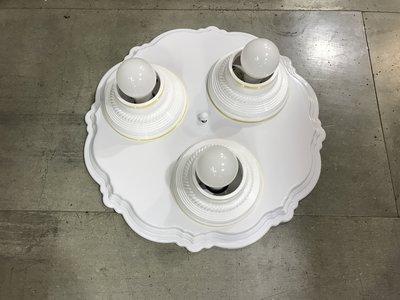 DIY水電材料 E27-三燈燈座附小夜...