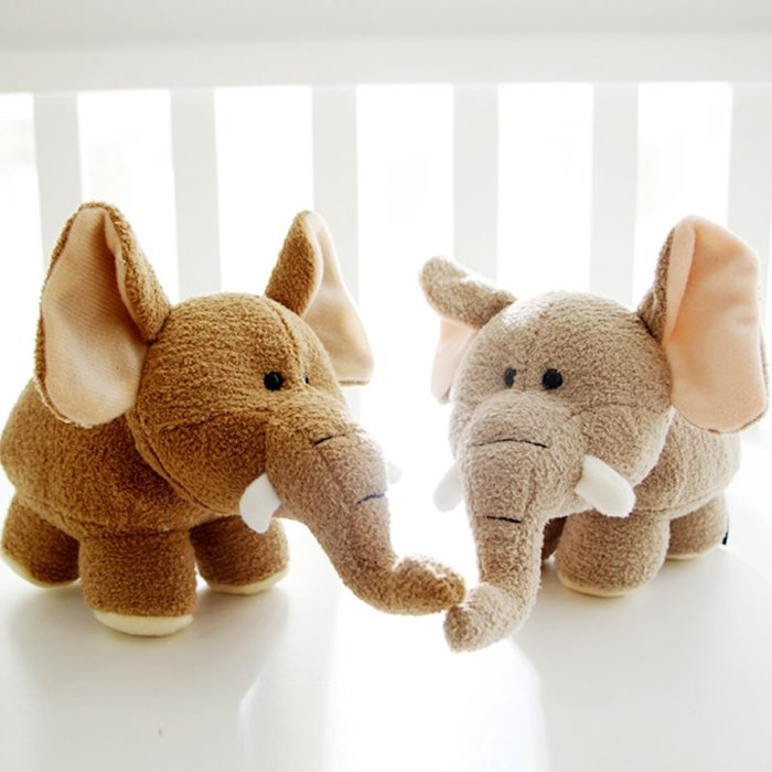 888利是鋪-大象公仔玩偶可愛小象布娃娃創意動物卡通毛絨玩具兒童生日禮物#玩偶