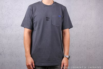 【HYDRA】MDNS CALL ME LATER WASHED POCKET TEE 水洗黑 口袋T【MDNS030】
