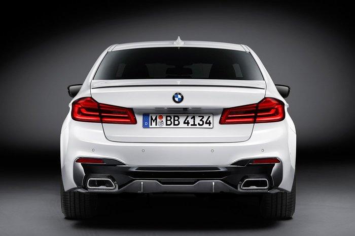 【樂駒】BMW G30 5系列 M Performance Carbon Diffuser Lower 碳纖維 後下擾流