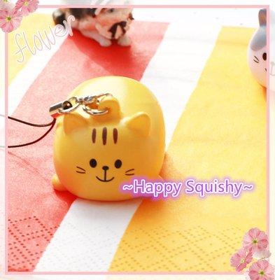 ~Happy Goods~貓貓擠擠樂Squeeze Charm /吊飾/紓壓擠擠樂(黃色款)