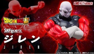 全新 魂限 日版 SHF 龍珠 超 S.H.Figuarts DRAGONBALL SUPER 吉連 Jiren 悟空 悟飯 杜拉格斯 比達 笛子魔童