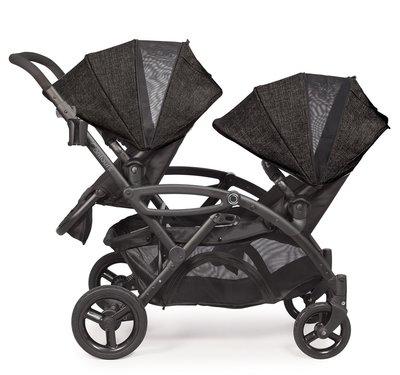 (代購服務費)美國新款Contours Options Elite Tandem雙胞胎 雙人推車