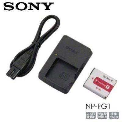 *大元˙台北*【SONY 原廠電池組】SONY ACC-CSFG 充電池組 FG1系列 WX系列 公司貨 盒裝 BG1