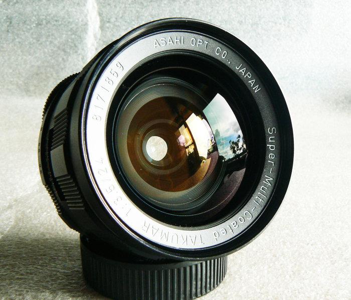 【悠悠山河】同新品 Asahi S-M-C Takumar 24mm F3.5 廣角鏡(稀土貴金屬玻璃) M42 超美鏡