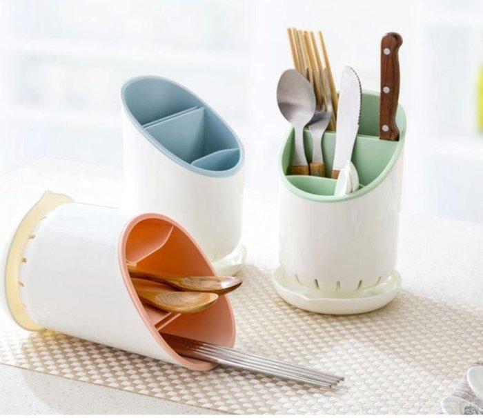 廚房置物架 廚具收納架 塑料瀝水筷子架 杓子置物架 筷子筒 筷子籠 廚房餐具收納架