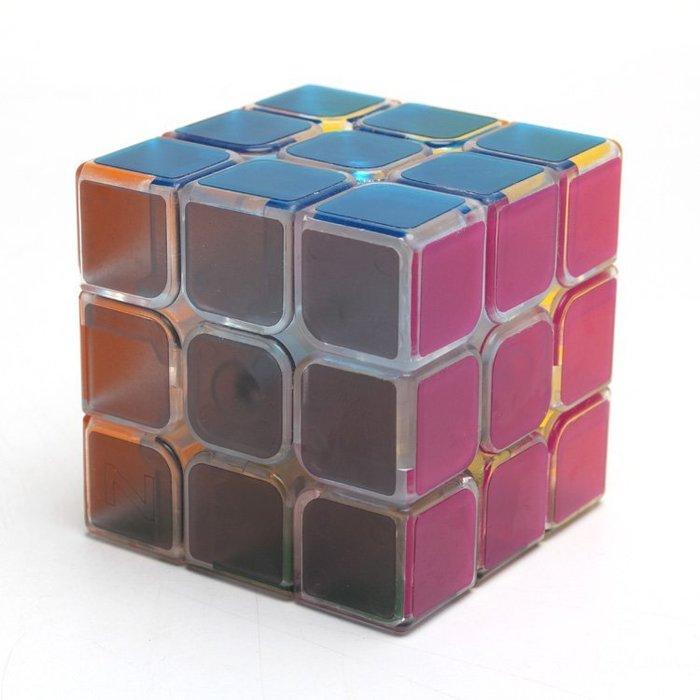 現貨/3階魔方透明三階魔方專業比賽用靈活可調節手感順滑玩具52SP5RL/ 最低促銷價