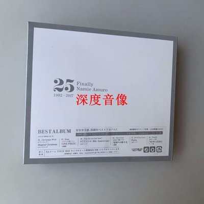 【深度音像店】全新現貨 NAMIE AMURO 安室奈美惠 Finally 3CD+DVD