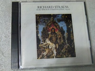 CBS稀有絕版Richard Strauss:Also Sprach Zarathustra梅塔紐約愛樂,1980日本
