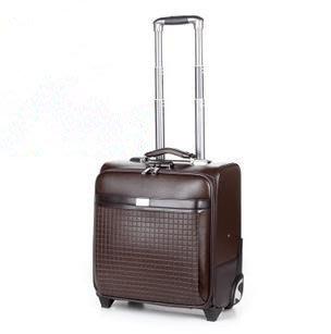 【優上精品】箱包 拉杆箱  行李箱子 16寸登機箱手提皮箱(Z-P3211)